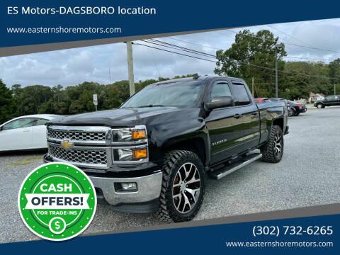 2015 Chevrolet Silverado 1500 for sale at ES Motors-DAGSBORO location in Dagsboro DE