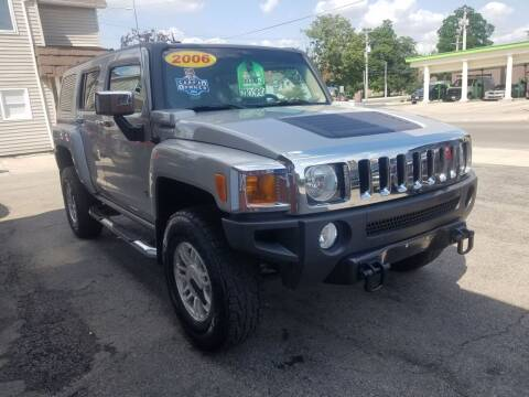 2006 HUMMER H3 for sale at BELLEFONTAINE MOTOR SALES in Bellefontaine OH