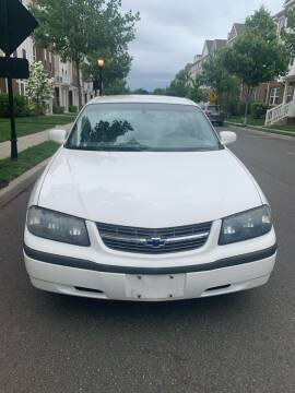 2003 Chevrolet Impala for sale at Pak1 Trading LLC in South Hackensack NJ