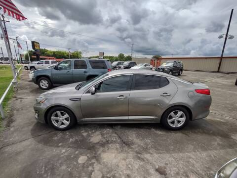 2014 Kia Optima for sale at BIG 7 USED CARS INC in League City TX