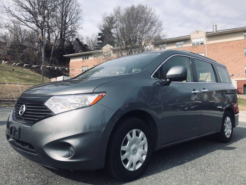 2016 Nissan Quest for sale at Trimax Auto Group in Baltimore MD
