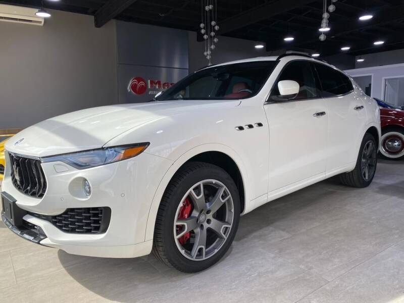 2017 Maserati Levante for sale at Mass Auto Exchange in Framingham MA