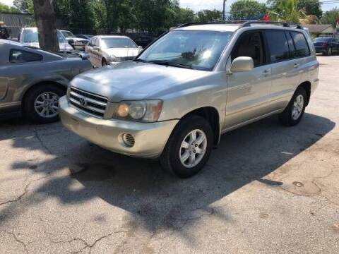 2003 Toyota Highlander for sale at Approved Auto Sales in San Antonio TX