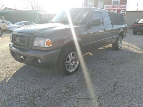 2011 Ford Ranger for sale at Sissonville Used Cars in Charleston WV