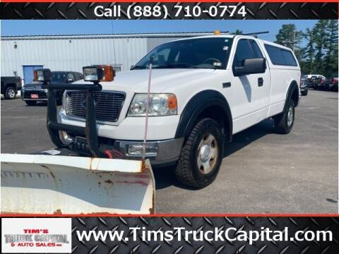 2004 Ford F-150 for sale at TTC AUTO OUTLET/TIM'S TRUCK CAPITAL & AUTO SALES INC ANNEX in Epsom NH