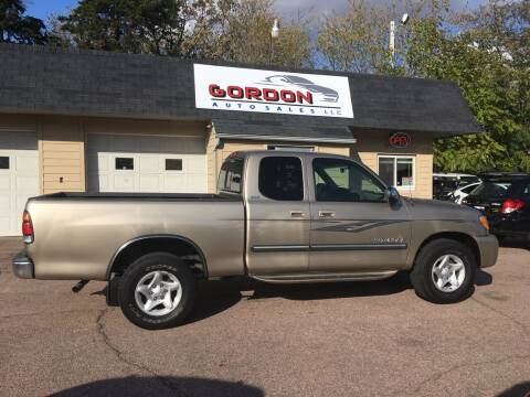 2003 Toyota Tundra for sale at Gordon Auto Sales LLC in Sioux City IA