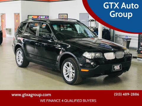 2007 BMW X3 for sale at GTX Auto Group in West Chester OH