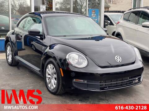 2013 Volkswagen Beetle for sale at MWS Wholesale  Auto Outlet in Grand Rapids MI
