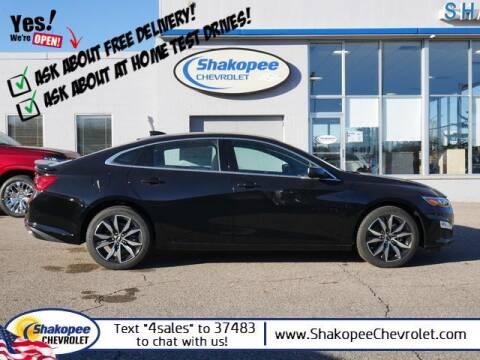 2021 Chevrolet Malibu for sale at SHAKOPEE CHEVROLET in Shakopee MN