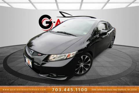 2013 Honda Civic for sale at Guarantee Automaxx in Stafford VA