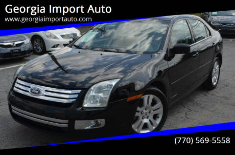 2006 Ford Fusion for sale at Georgia Import Auto in Alpharetta GA