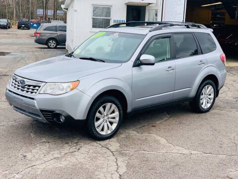 2013 Subaru Forester for sale at Milford Automall Sales and Service in Bellingham MA