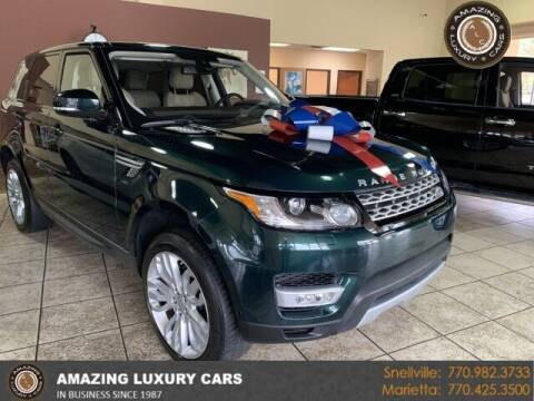 2016 Land Rover Range Rover Sport for sale at Amazing Luxury Cars in Snellville GA