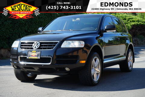 2004 Volkswagen Touareg for sale at West Coast Auto Works in Edmonds WA