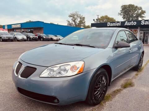 2007 Pontiac G6 for sale at Daniel Auto Sales inc in Clinton Township MI