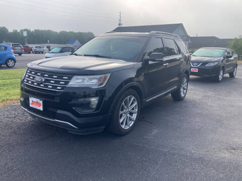 2016 Ford Explorer for sale at McCully's Automotive - Trucks & SUV's in Benton KY
