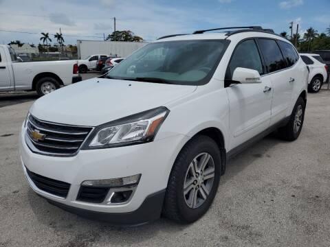 2017 Chevrolet Traverse for sale at VC Auto Sales in Miami FL
