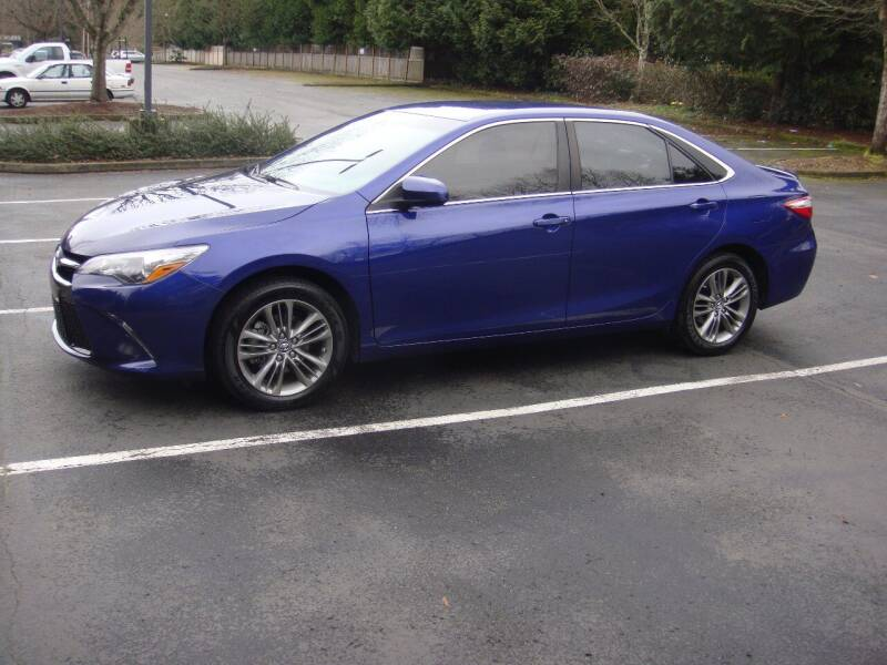 2015 Toyota Camry for sale at Western Auto Brokers in Lynnwood WA