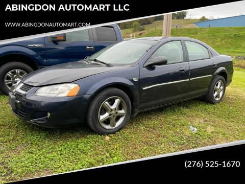 2004 Dodge Stratus for sale at ABINGDON AUTOMART LLC in Abingdon VA