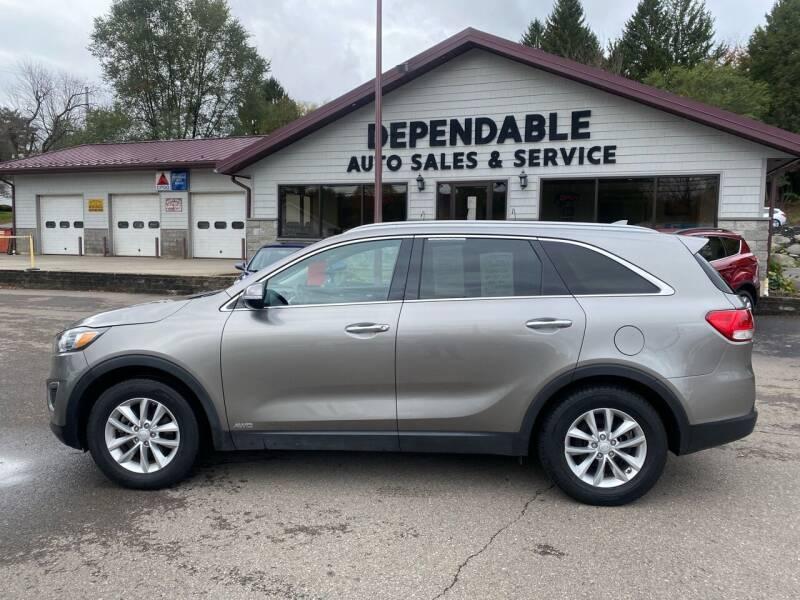 2017 Kia Sorento for sale at Dependable Auto Sales and Service in Binghamton NY