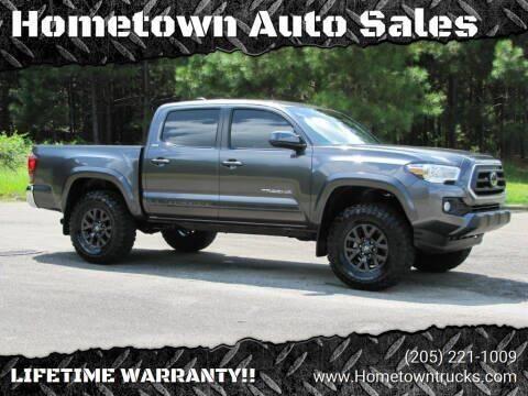 2020 Toyota Tacoma for sale at Hometown Auto Sales - Trucks in Jasper AL