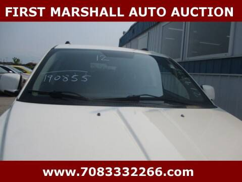 2012 Dodge Journey for sale at First Marshall Auto Auction in Harvey IL