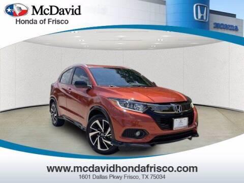 2019 Honda HR-V for sale at DAVID McDAVID HONDA OF IRVING in Irving TX