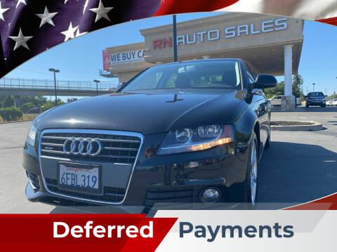 2009 Audi A4 for sale at RN Auto Sales Inc in Sacramento CA