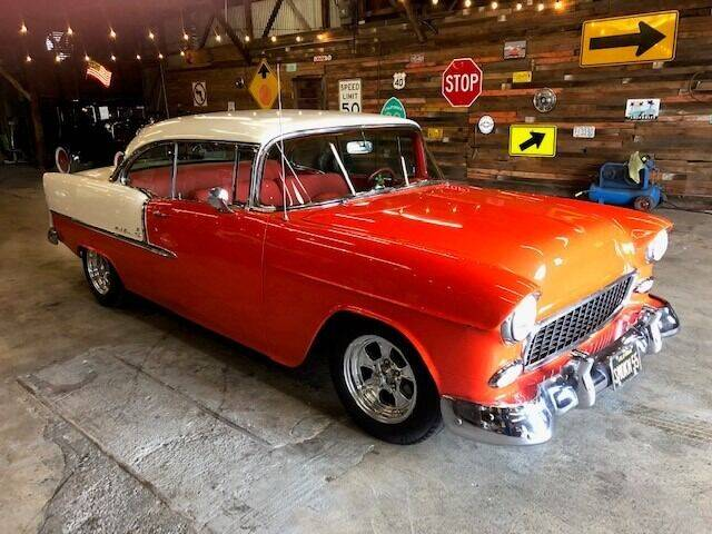 1955 Chevrolet Bel Air for sale at Route 40 Classics in Citrus Heights CA