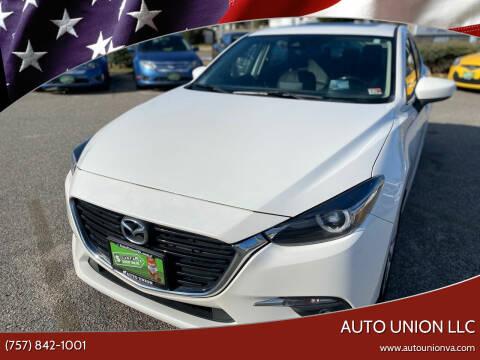 2017 Mazda MAZDA3 for sale at Auto Union LLC in Virginia Beach VA
