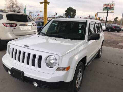 2016 Jeep Patriot for sale at Fiesta Motors Inc in Las Cruces NM