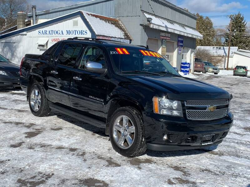 2011 Chevrolet Avalanche for sale at Saratoga Motors in Gansevoort NY