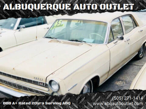 1965 Mercury Comet for sale at ALBUQUERQUE AUTO OUTLET in Albuquerque NM