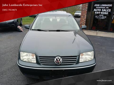 2004 Volkswagen Jetta for sale at John Lombardo Enterprises Inc in Rochester NY