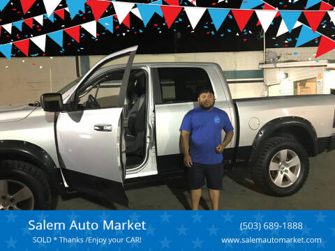 2010 Dodge Ram Pickup 1500 for sale at Salem Auto Market in Salem OR