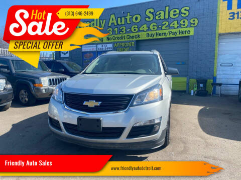 2016 Chevrolet Traverse for sale at Friendly Auto Sales in Detroit MI