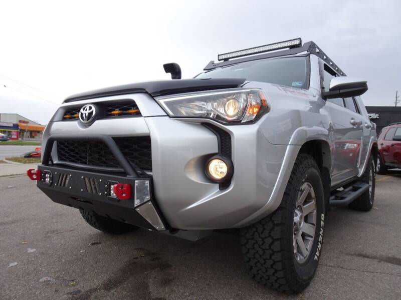2016 Toyota 4Runner for sale at Cromax Automotive in Ann Arbor MI