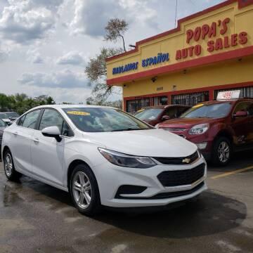 2018 Chevrolet Cruze for sale at Popas Auto Sales in Detroit MI
