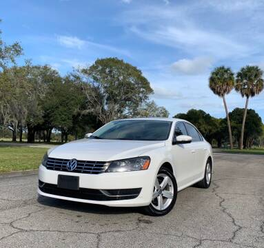 2013 Volkswagen Passat for sale at FLORIDA MIDO MOTORS INC in Tampa FL