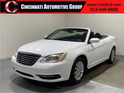 2012 Chrysler 200 Convertible for sale at Cincinnati Automotive Group in Lebanon OH