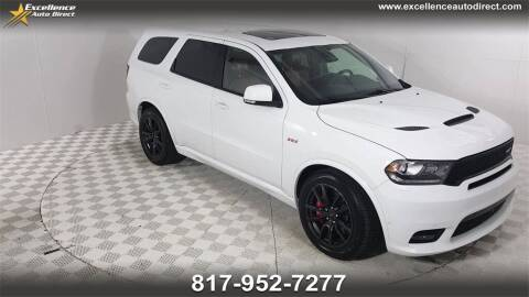 2018 Dodge Durango for sale at Excellence Auto Direct in Euless TX