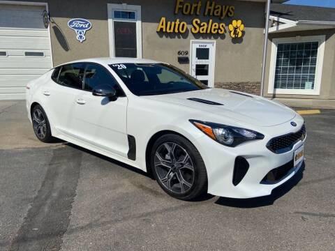 2020 Kia Stinger for sale at Fort Hays Auto Sales in Hays KS