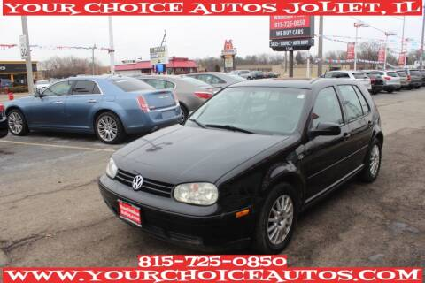 2004 Volkswagen Golf for sale at Your Choice Autos - Joliet in Joliet IL