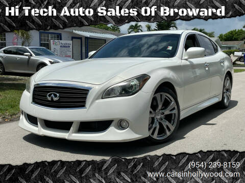 2013 Infiniti M56 for sale at Hi Tech Auto Sales Of Broward in Hollywood FL