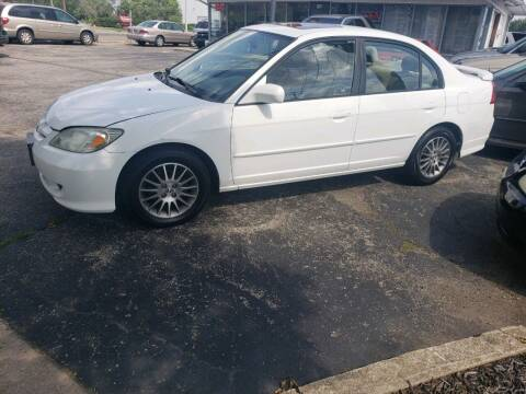 2005 Honda Civic for sale at Sportscar Group INC in Moraine OH