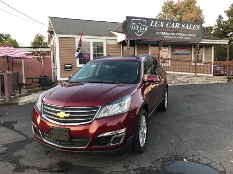 2015 Chevrolet Traverse for sale at Lux Car Sales in South Easton MA