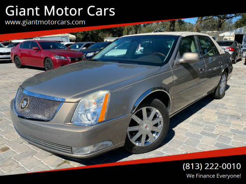 2007 Cadillac DTS for sale at Giant Motor Cars in Tampa FL