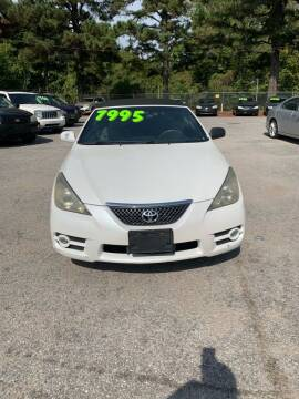2007 Toyota Camry Solara for sale at Super Wheels-N-Deals in Memphis TN