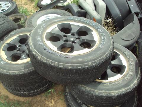 Jeep TIRES for sale at BENHAM AUTO INC - Peace of Mind Auto Collision and Repair in Lubbock TX