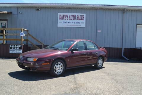 2002 Saturn S-Series for sale at Dave's Auto Sales in Winthrop MN